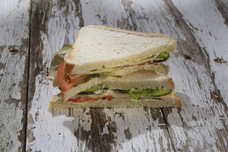 Sandwichbelag nach Wunsch